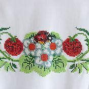 """Работы для детей, ручной работы. Ярмарка Мастеров - ручная работа Платье """"Клубничка-ягодка"""". Handmade."""