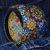 """Украшения ручной работы. Ярмарка Мастеров - ручная работа Браслет """"Цветочная карусель"""". Handmade."""