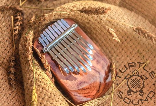 Струнные инструменты ручной работы. Ярмарка Мастеров - ручная работа. Купить Калимба ручной работы 9 язычков, пентатоника. Handmade.