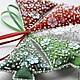 """Новый год 2017 ручной работы. Заказать Набор авторских елочных игрушек """"Рождество"""" 5 шт.. Sunny Land (sunnyland). Ярмарка Мастеров."""