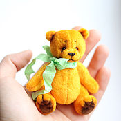 Куклы и игрушки ручной работы. Ярмарка Мастеров - ручная работа Солнечный Лу (8 см). Handmade.