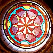 Для дома и интерьера handmade. Livemaster - original item Window. The attic. Stained glass. Handmade.