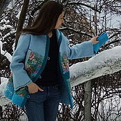 Одежда ручной работы. Ярмарка Мастеров - ручная работа Душегрея. Пальто.. Handmade.