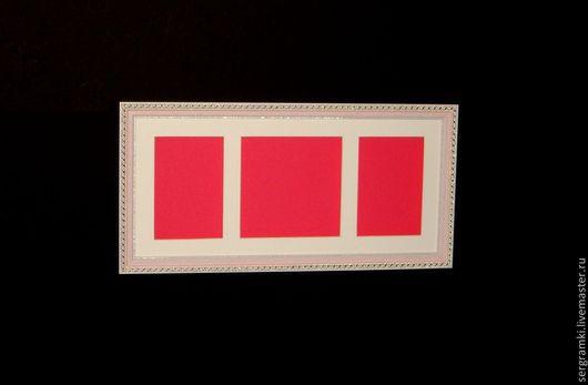 Фоторамки ручной работы. Ярмарка Мастеров - ручная работа. Купить Рамка глубокая для слепков.. Handmade. Розовый, рамка, рамки