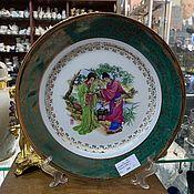 Винтаж handmade. Livemaster - original item Plate