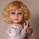 Коллекционные куклы ручной работы. Елесия. 'КуклаЛеКо' -Елена Коновалова. Интернет-магазин Ярмарка Мастеров. Кукла с мишкой, мех искусственный