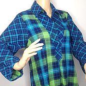 Одежда handmade. Livemaster - original item Blouse Long 50R,52r,54r,. Handmade.