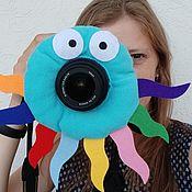Куклы и игрушки handmade. Livemaster - original item Toy camera Octopus. Handmade.