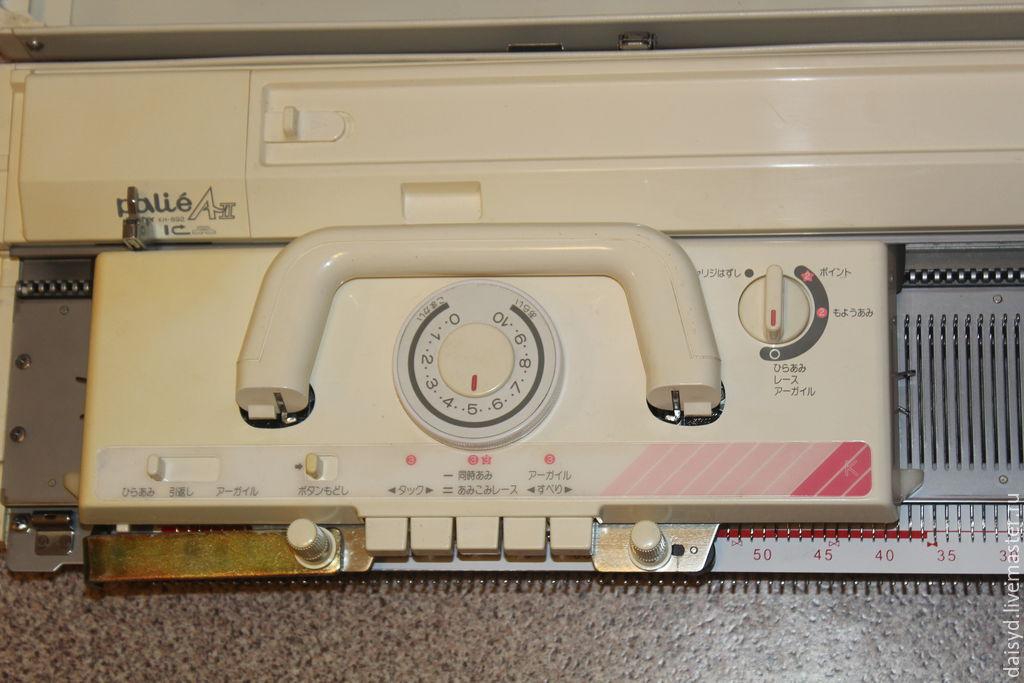 Brother KH 892, 5 класса вязальная машина, в отл. состоянии, Япония, Инструменты для вязания, Хабаровск,  Фото №1