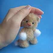 Куклы и игрушки ручной работы. Ярмарка Мастеров - ручная работа котенок Максик. Handmade.