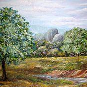 Картины и панно ручной работы. Ярмарка Мастеров - ручная работа Шри - Ланка (2). Handmade.