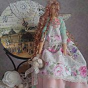 Куклы и игрушки ручной работы. Ярмарка Мастеров - ручная работа Тильда ангел Камелия. Handmade.
