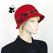 Аксессуары handmade. Livemaster - original item Elegant women`s felt hat