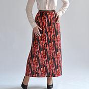 Одежда handmade. Livemaster - original item Long skirt knitted. Handmade.