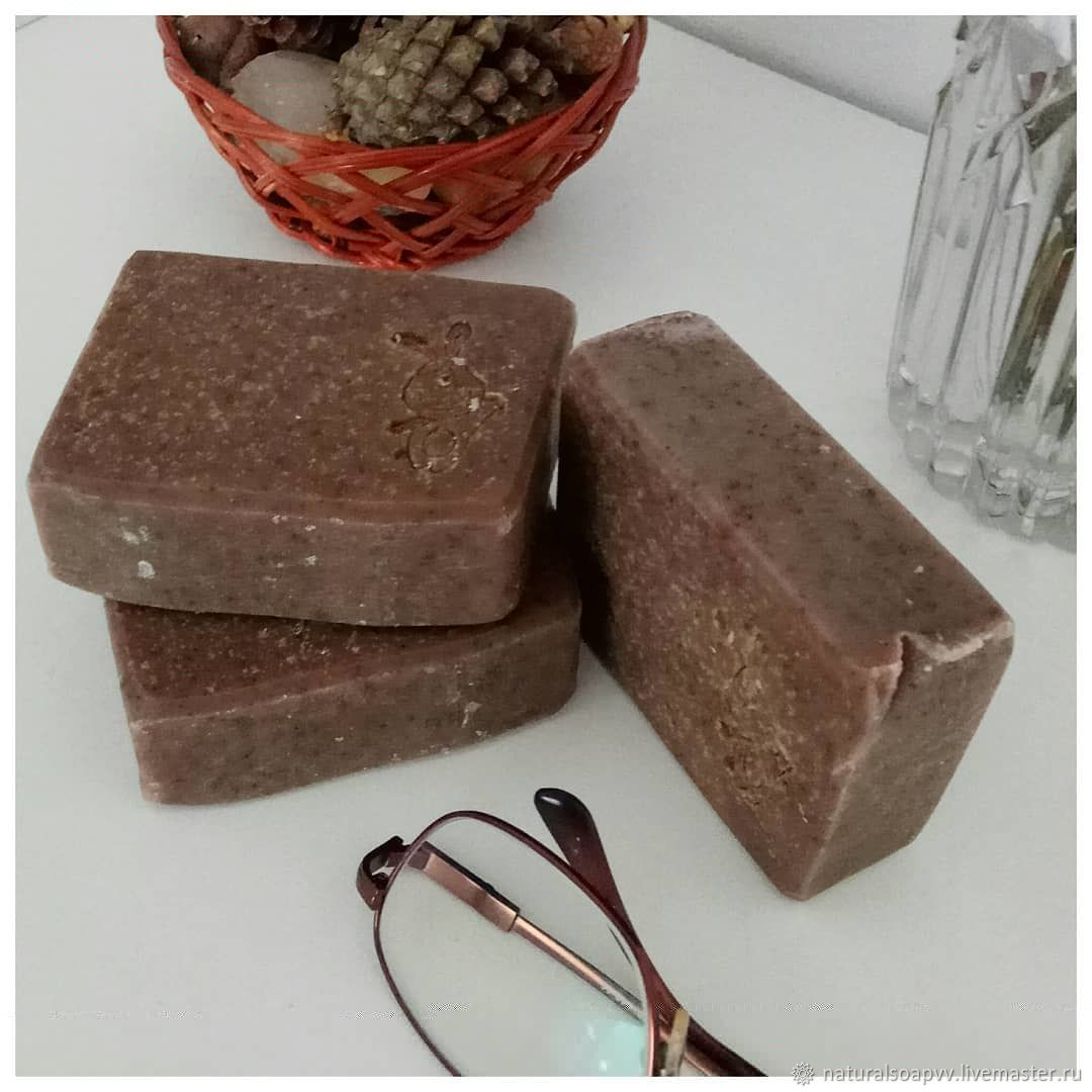Soap - scrub Coffee with coconut milk, Soap, Permian,  Фото №1