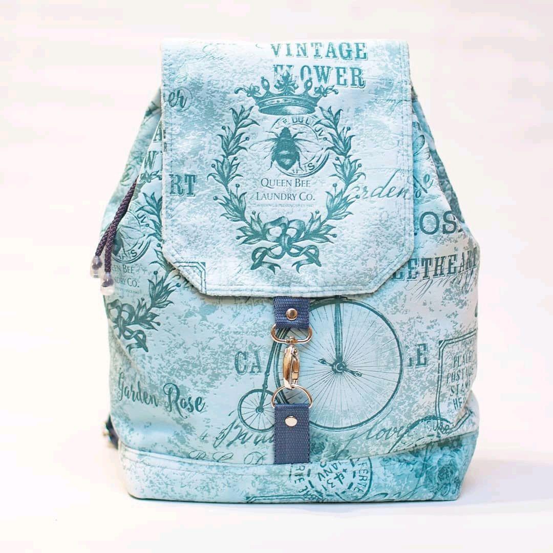 Городской женский рюкзак Прованс мятный, Рюкзаки, Муром,  Фото №1