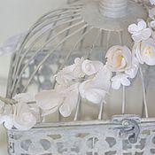 handmade. Livemaster - original item A wreath for the bride for hair Freshness, polymer clay.. Handmade.