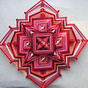 Фен-шуй и эзотерика ручной работы. Ярмарка Мастеров - ручная работа Мандала плетёная из ниток. Handmade.