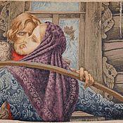 Картины и панно ручной работы. Ярмарка Мастеров - ручная работа У чужого окна. Handmade.