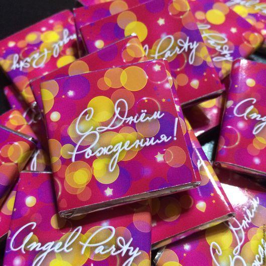 """Праздничная атрибутика ручной работы. Ярмарка Мастеров - ручная работа. Купить Подарки для гостей  """"Angel Рarty"""". Handmade. Комбинированный, торжество"""