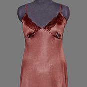Одежда ручной работы. Ярмарка Мастеров - ручная работа ночная сорочка. Handmade.
