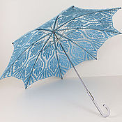 Аксессуары handmade. Livemaster - original item Umbrella-cane Leaves. Handmade.