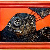 """Картины и панно ручной работы. Ярмарка Мастеров - ручная работа """"Барбус античный"""". Handmade."""