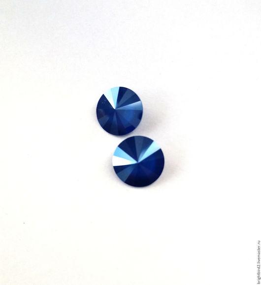 Для украшений ручной работы. Ярмарка Мастеров - ручная работа. Купить Риволи 12мм, 14 мм Royal Blue 1122  Сваровски. Handmade.