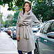 Верхняя одежда ручной работы. Пальто-трансформер (beige). German Kuch. Ярмарка Мастеров. Пальто-трансформер, дизайнерская одежда