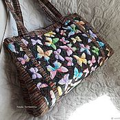 Сумки и аксессуары handmade. Livemaster - original item Textile, quilted tote bag