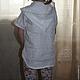 Одежда для девочек, ручной работы. Детская туничка (из тонкого льна). ~Льняная лавочка~. Интернет-магазин Ярмарка Мастеров. Однотонный