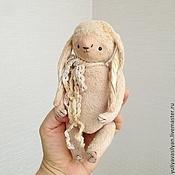 Куклы и игрушки ручной работы. Ярмарка Мастеров - ручная работа Зайка Неженка. Handmade.