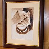 Свадебный салон ручной работы. Ярмарка Мастеров - ручная работа Свадебная метрика. Handmade.