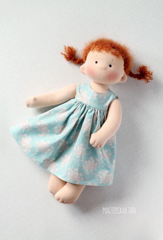 Развивающие игрушки ручной работы. Ярмарка Мастеров - ручная работа. Купить Татошка, игровая текстильная кукла. Handmade. Вальдорфская кукла