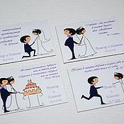 Сувениры и подарки ручной работы. Ярмарка Мастеров - ручная работа TENDER Love..Свадебные магниты для гостей. Handmade.