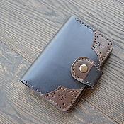 Сумки и аксессуары handmade. Livemaster - original item Passport cover leather. Handmade.