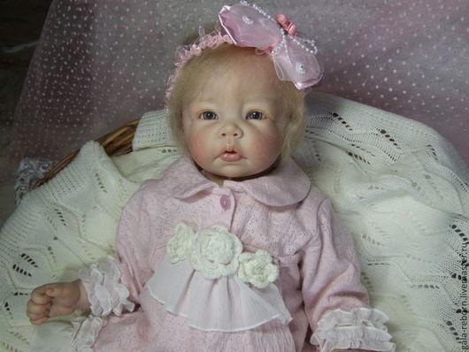 Куклы-младенцы и reborn ручной работы. Ярмарка Мастеров - ручная работа. Купить Девочка Люсси. Handmade. Бежевый, кукла интерьерная