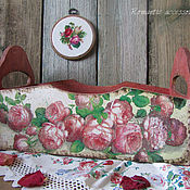 """Для дома и интерьера ручной работы. Ярмарка Мастеров - ручная работа короб """"Розарий"""". Handmade."""