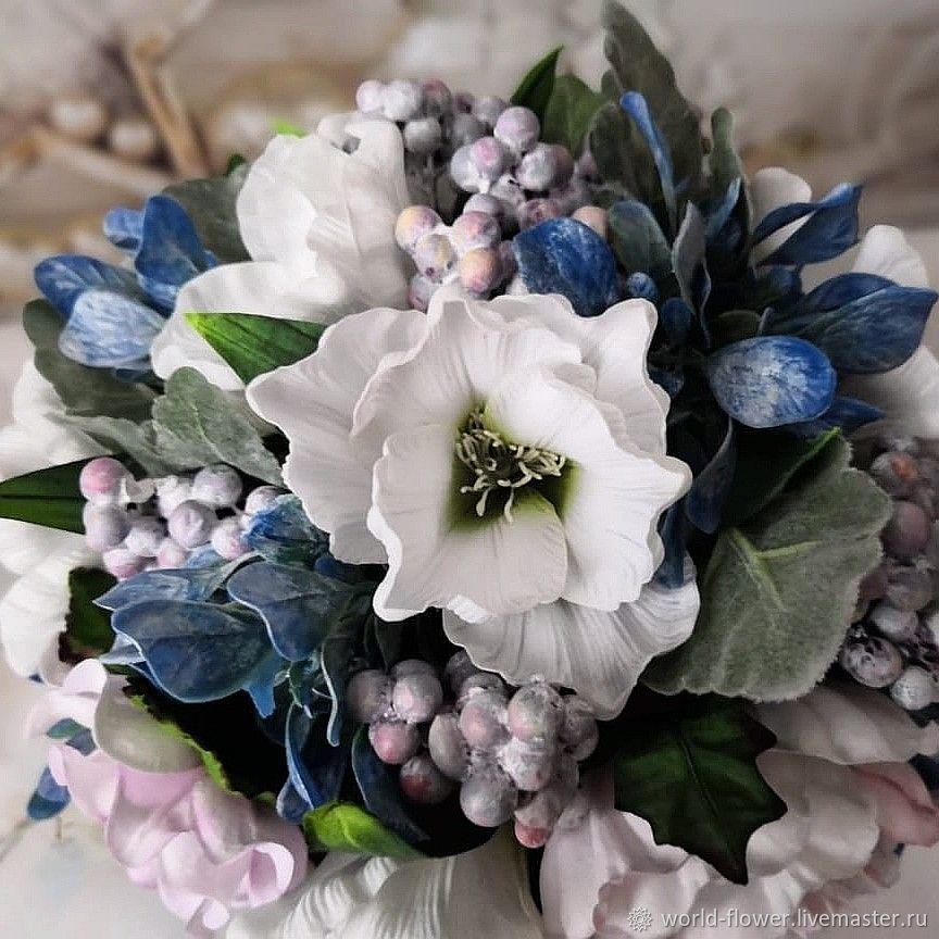 Bouquet lamp 'Winter waltz', Table lamps, Surgut,  Фото №1