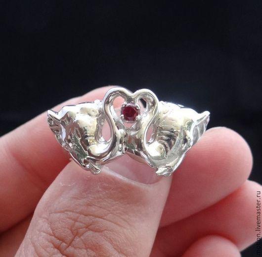 Кольца ручной работы. Ярмарка Мастеров - ручная работа. Купить Колечко Слноы Серебро, Серебряное кольцо 925 пробы с камнем. Handmade.