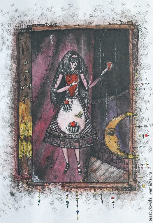 Рассказ марионетки ( серия `Театр`) автор Тася Быковски