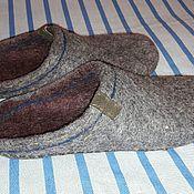 Обувь ручной работы. Ярмарка Мастеров - ручная работа Тапки домашние валяные. Handmade.
