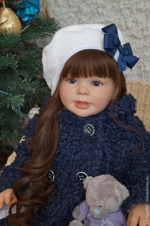 Куклы-младенцы и reborn ручной работы. Ярмарка Мастеров - ручная работа. Купить Машенька. Handmade. Тёмно-синий, генезис