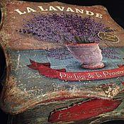 Для дома и интерьера ручной работы. Ярмарка Мастеров - ручная работа Шкатулка La Lavande. Handmade.