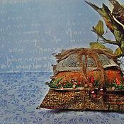 """Сувениры и подарки ручной работы. Ярмарка Мастеров - ручная работа саше-игольница"""" Винтажное лето 2"""". Handmade."""