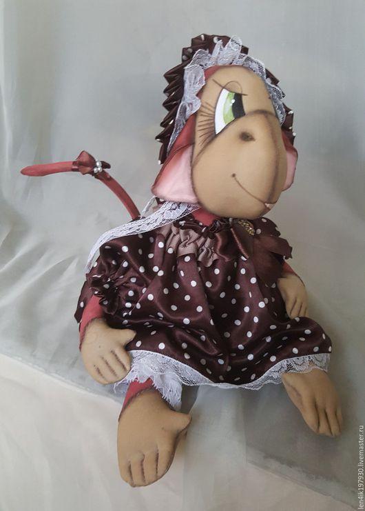 Коллекционные куклы ручной работы. Ярмарка Мастеров - ручная работа. Купить Кукла интерьерная. Handmade. Разноцветный, интерьер, интересный подарок