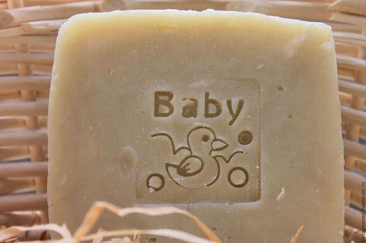 """Мыло ручной работы. Ярмарка Мастеров - ручная работа. Купить Мыло с нуля """"Baby""""(детское). Handmade. Белый, натуральное мыло купить"""