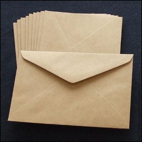Крафт-конверт, 5 размеров, Пакеты, Березники,  Фото №1