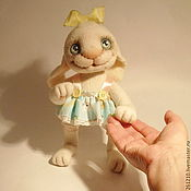 Куклы и игрушки ручной работы. Ярмарка Мастеров - ручная работа Зайка Мариша, валяная игрушка.. Handmade.