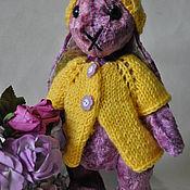 Куклы и игрушки ручной работы. Ярмарка Мастеров - ручная работа Сиреневый зайчик. Handmade.